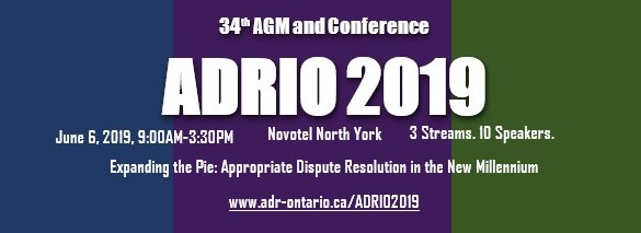 ADRIO- 34th AGM and Conference