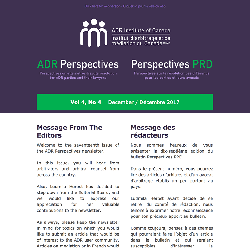 I-Advertising_ADR Perspectives E-newsletter - Horizontal