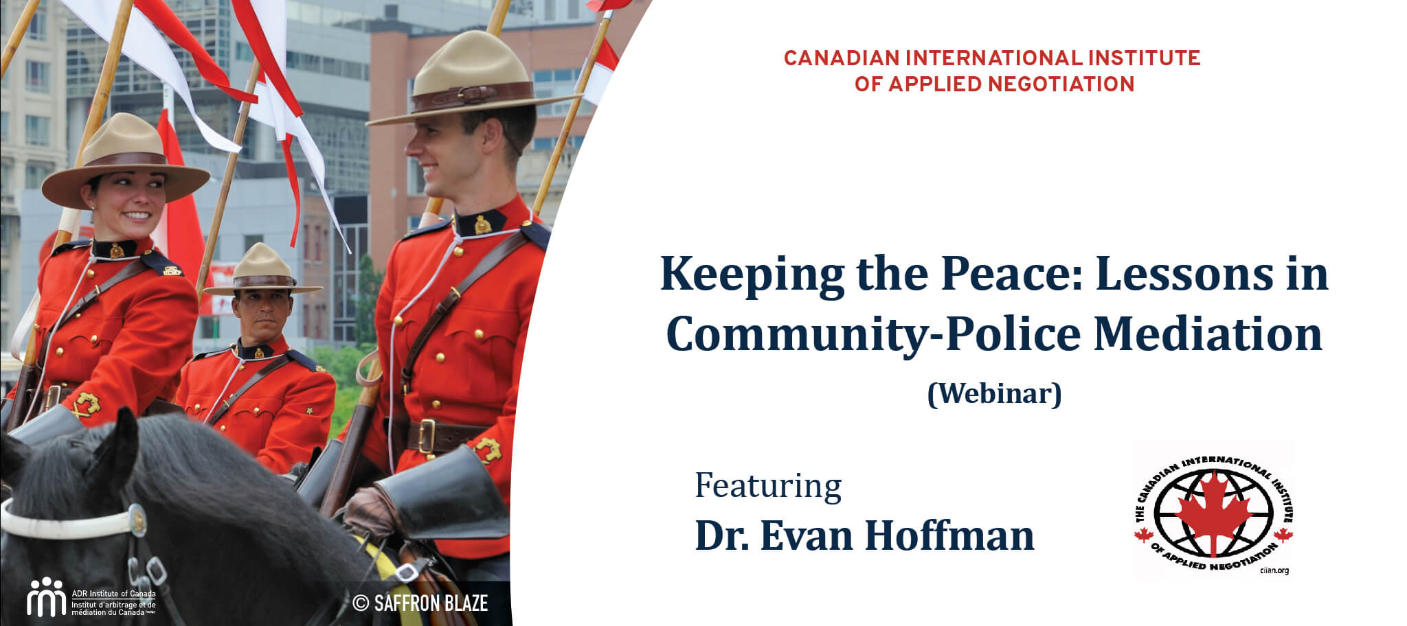 D-Webinar Recording: The Connection Between Policing and ADR